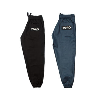 Oversized Sweatpants Joggers (Denim)