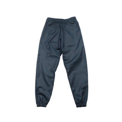 Oversized Sweatpants Joggers (Denim) - Blue Front