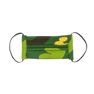 Camouflage Face Mask (v 2.0) - Green Front