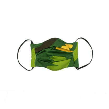 Camouflage Face Mask (v 2.0) - Green Front