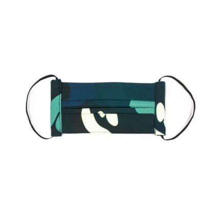 Camouflage Face Mask (v 2.0) - Blue Front