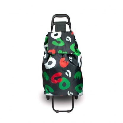 Black Camouflage Shopping Trolley