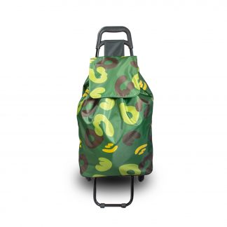 Green Camouflage Shopping Trolley