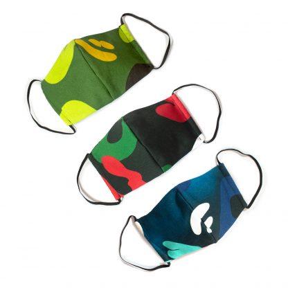Camouflage Face Mask - bundle